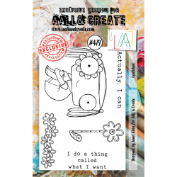 AALL & Create Stamp - 479 - Enfant zen