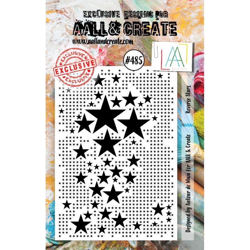 AALL & Create Stamp - 485 - Faisceau d'étoiles
