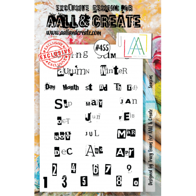 AALL & Create Stamp - 455 - Chiffres Journal