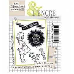 Tampons L'Encre & l'Image - Collector - Belle à croquer