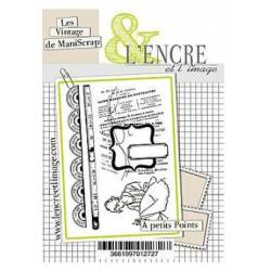 Tampons L'Encre & l'Image - Collector - A petits Points