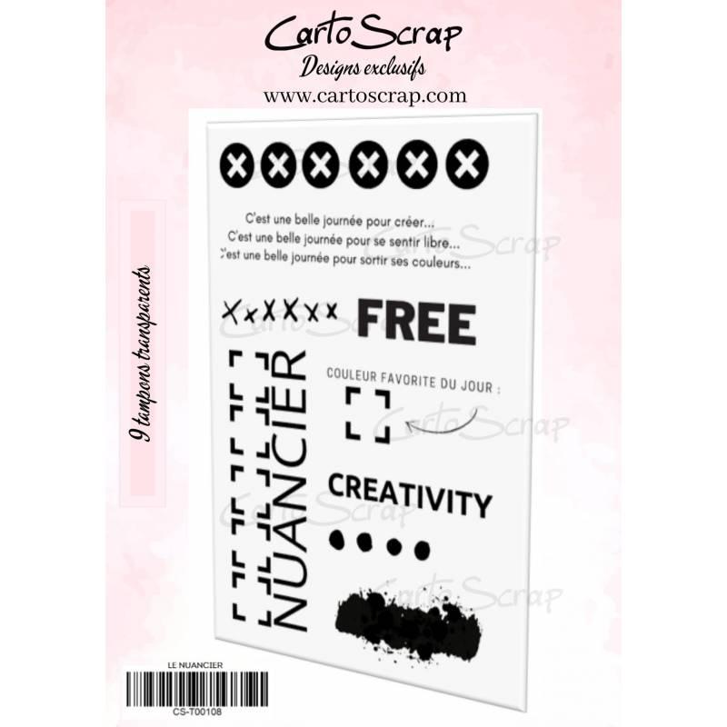 Tampons CartoScrap - Le nuancier