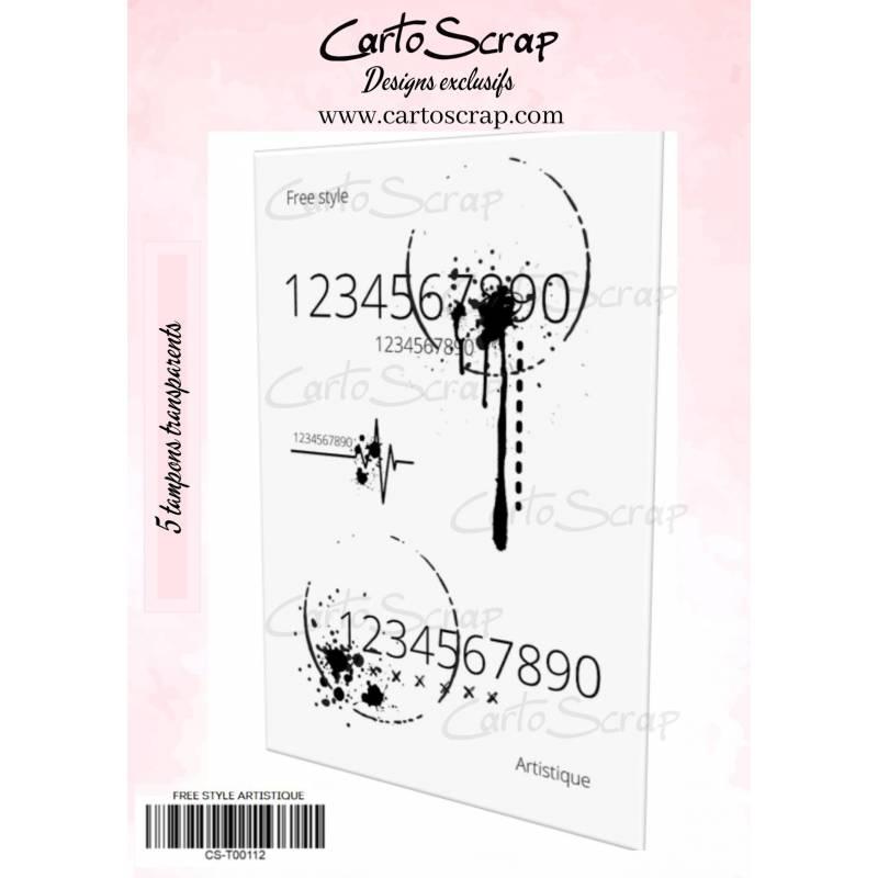 Tampons CartoScrap - Free Style Artistique