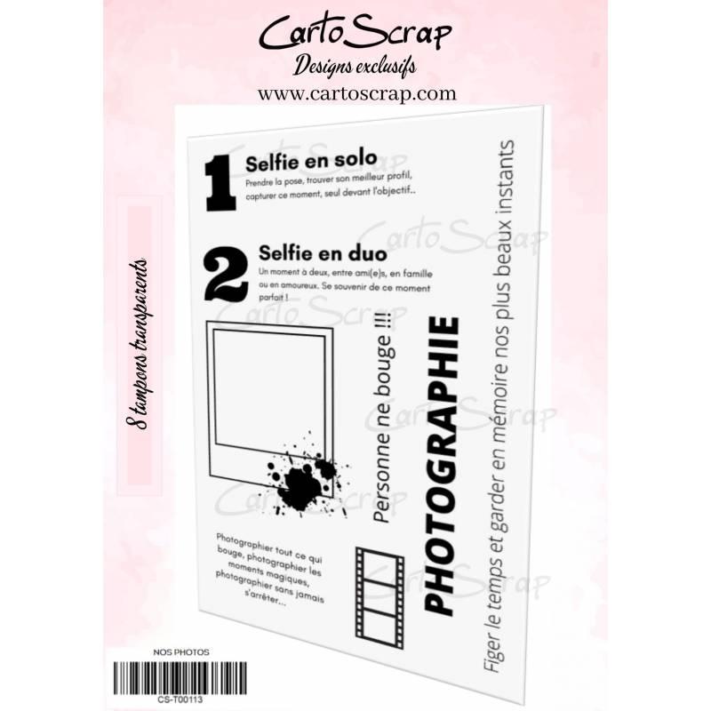 Tampons CartoScrap - Nos photos
