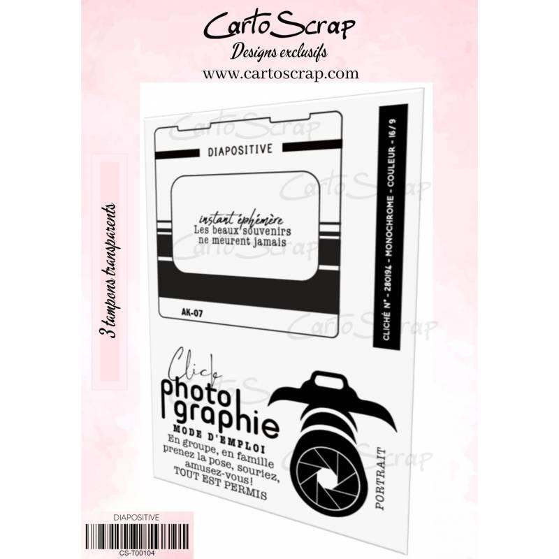 Tampons CartoScrap - Diapositive