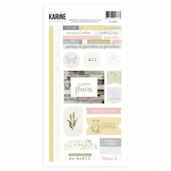 Collection Bienvenue chez Moi - Stickers - 15 x 30