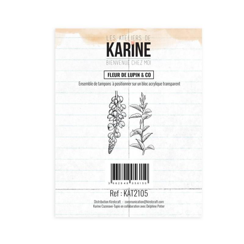 Tampons clear - Collection Bienvenue chez Moi - Fleur de lupin & Co