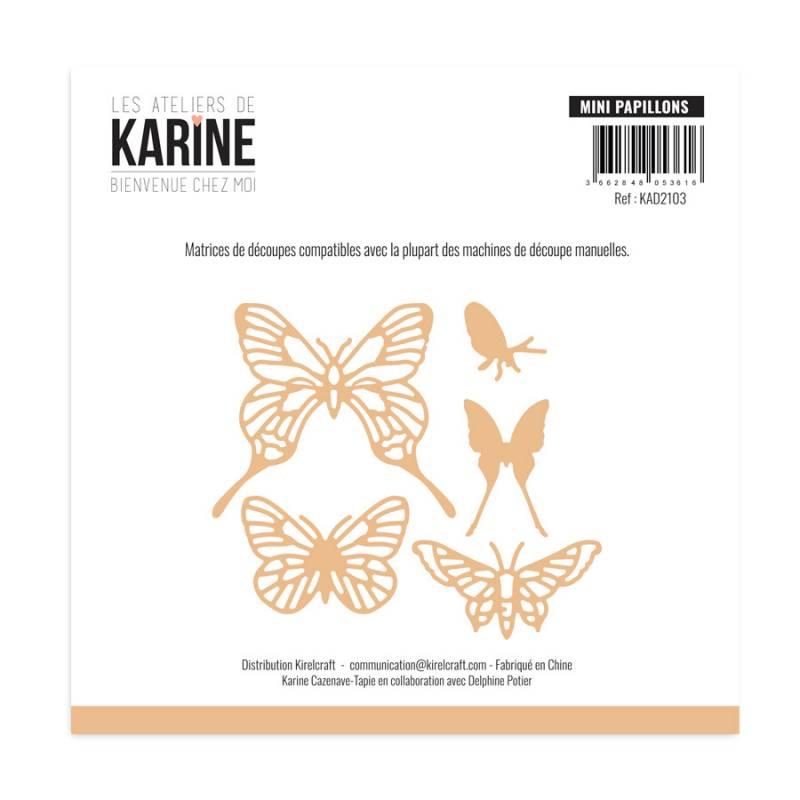 Die - Collection Bienvenue chez Moi - Mini Papillons