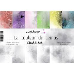 Pack Papier A4 - CartoScrap - La couleur du temps