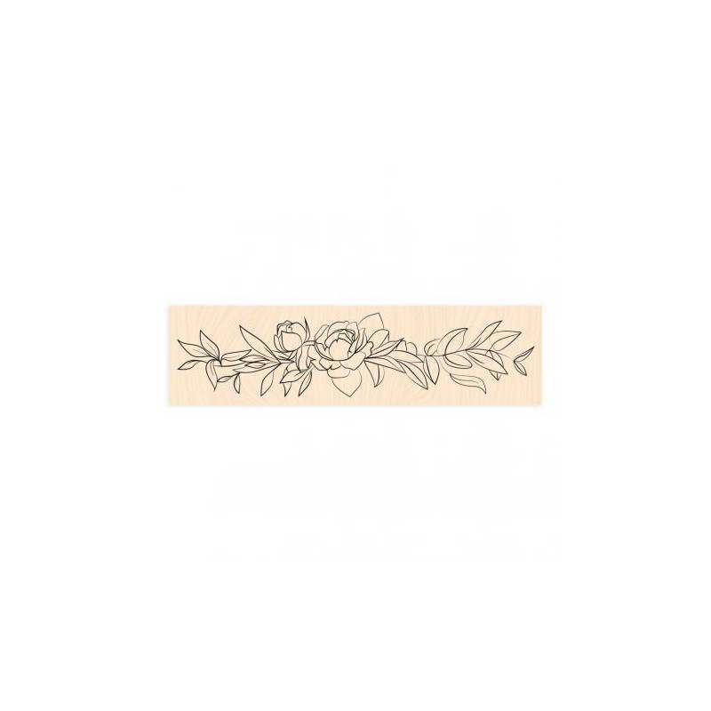Tampon bois - Collection Bienvenue chez Moi - Délicate