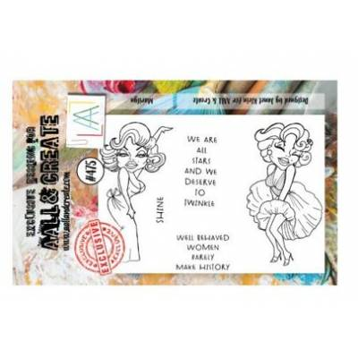 AALL & Create Stamp - A7 - Nous, les stars