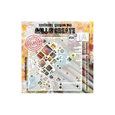 AALL & Create - Pochoir 124 - Oh carrés!