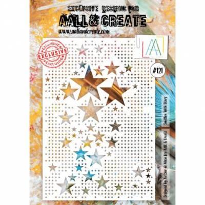 AALL & Create - Pochoir 121 - Giga Constellations
