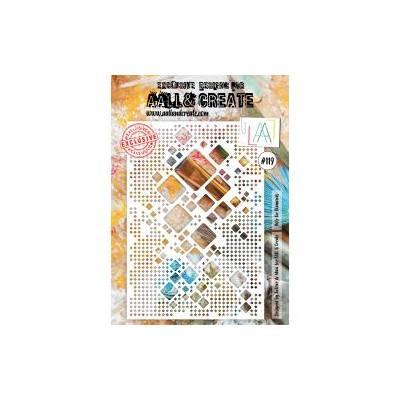 AALL & Create - Pochoir 119 - Giga carrés arrondis