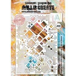 AALL & Create - Pochoir 119 - Giga carrés!