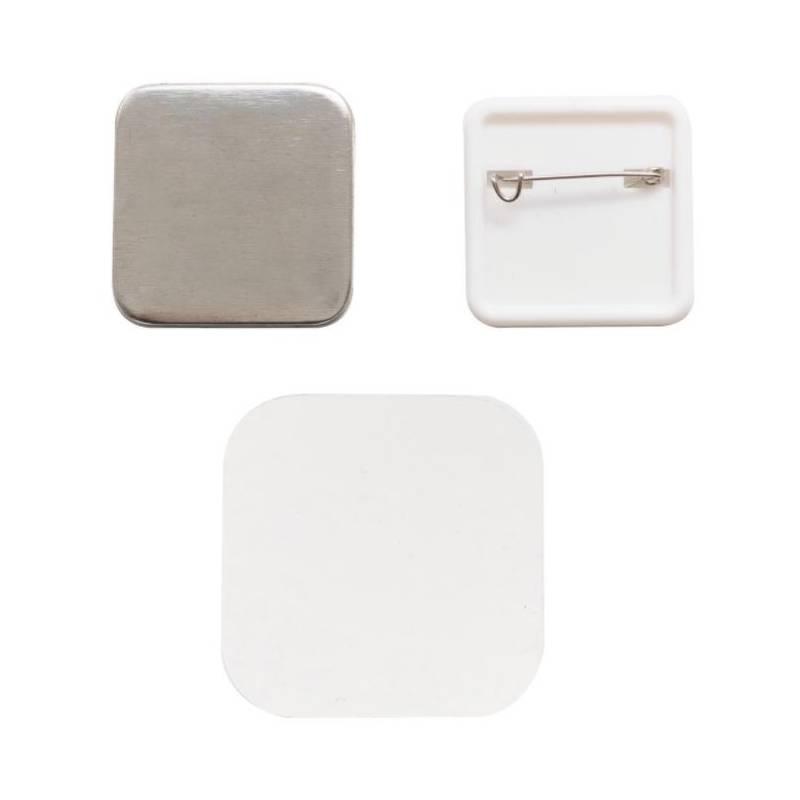 We R Memory Keepers - Recharge pour badges carrés - Pack 10/Pkg