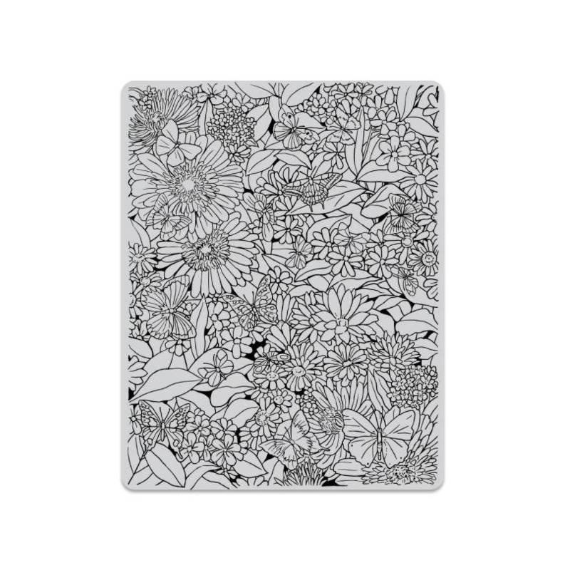 Tampon Cling - Hero Arts - Tapis floral