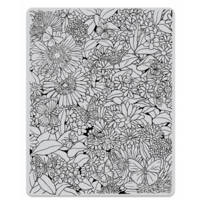 Tampon Cling - Hero Arts - Tapis floral