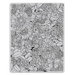 Tampons - Hero Arts - Tapis floral
