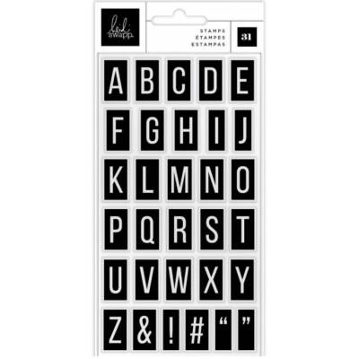 Tampons Heidi Swapp - Care Free Alphabet