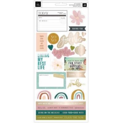 Planche Stickers Heidi Swapp - Care Free