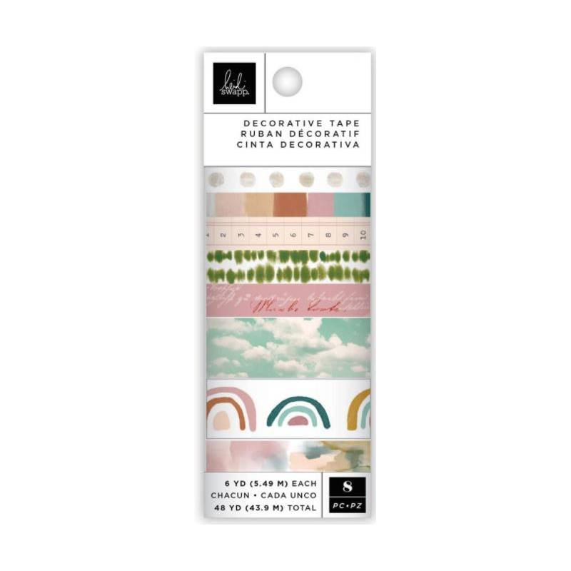 Set de 8 washi tapes - Heidi Swapp - Care Free