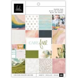 Pack Papier 15.2 x 20.3 cm - Heidi Swapp - Care Free