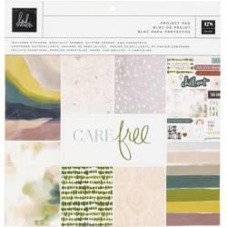Pack Papier 30.5 x 30.5 cm - Heidi Swapp - Care Free