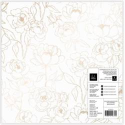 Papier Vellum - 30.5 x 30.5 cm - Heidi Swapp - Care Free