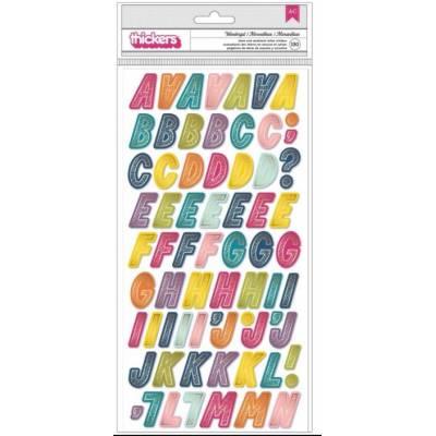 Stickers Alphabet mousse - Paige Evans - Wonder