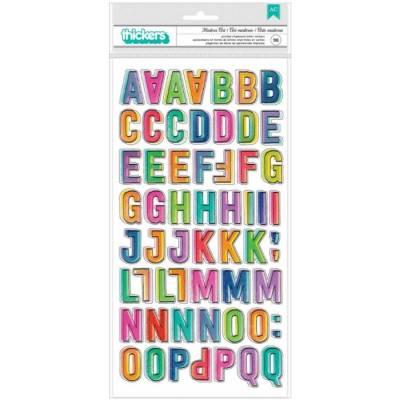 Stickers Alphabet épais - Vicki Boutin - Color Study