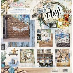 Pack Papier 30.5 x 30.5 cm - Asuka Studio - Play