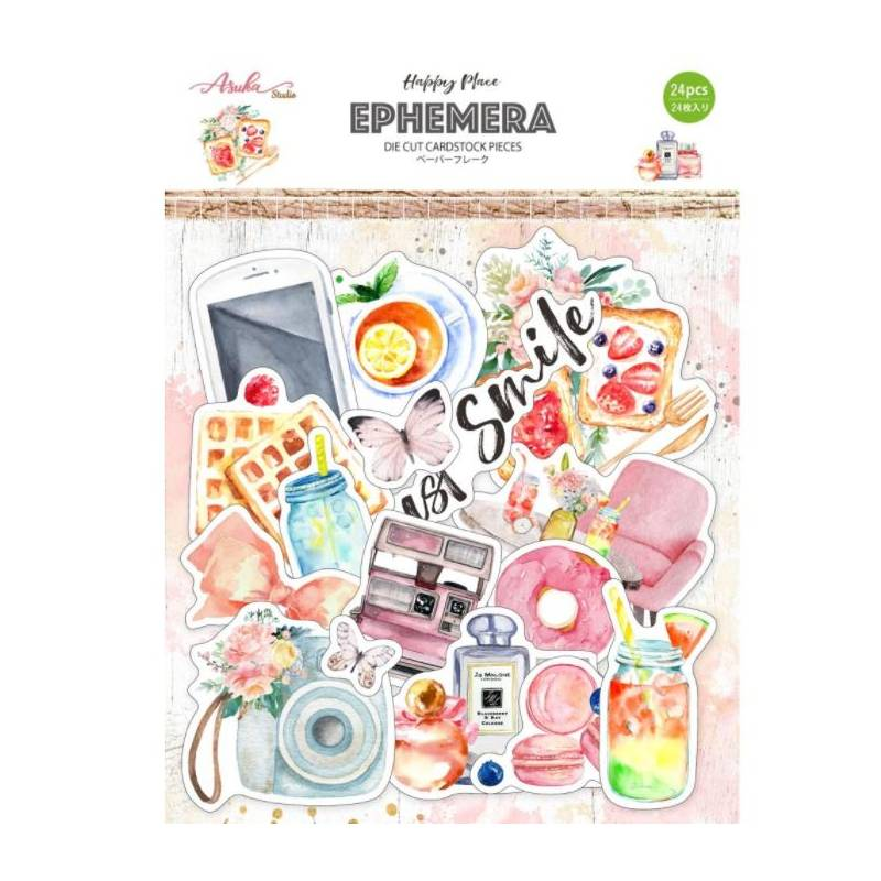 Die Cuts Ephemeria - Asuka Studio - Happy place