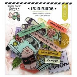 Décorations acryliques - Dolce Vita