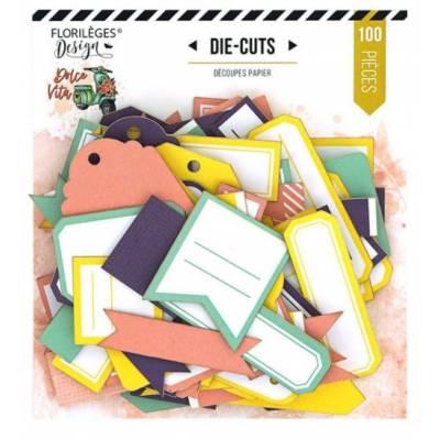 Die Cuts Etiquettes - Florilèges - N°27 Dolce Vita