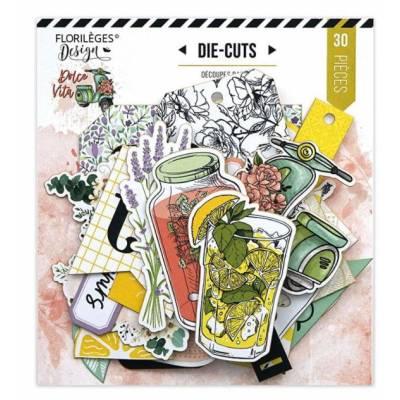 Die Cuts Imprimés - Florilèges - Dolce Vita