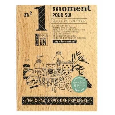 Tampon bois - Florilèges - Dolce Vita - N°1 Moment pour soi
