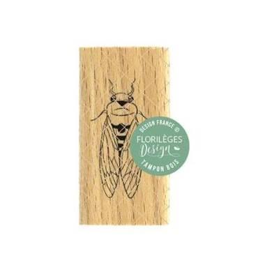 Tampon bois - Florilèges - Dolce Vita - Petite cigale