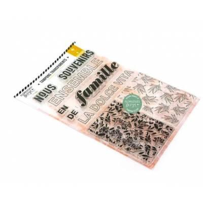 Tampons clear - Florilèges - Dolce Vita - Souvenirs de famille