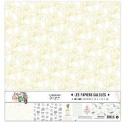 Kit Calques Florilèges - Dolce Vita - 30.5 X 30.5