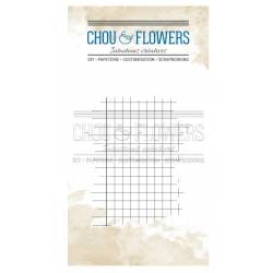 Tampons Clear - Chou & Flowers - Carreaux