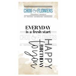 Tampons Clear - Chou & Flowers - Everyday