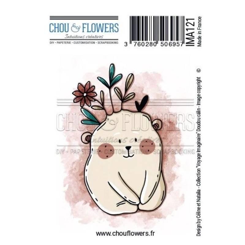 Tampons EZ - Chou & Flowers - Doudou Calin