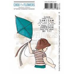 Tampons EZ - Chou & Flowers - Cerf-volant