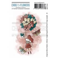 Tampons EZ - Chou & Flowers - Frise texte
