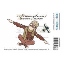 Tampons EZ - Chou & Flowers - L'aviateur