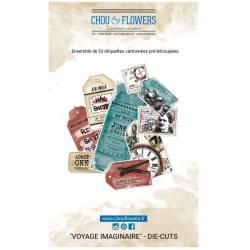 Die Cuts - Chou & Flowers - Voyage imaginaire