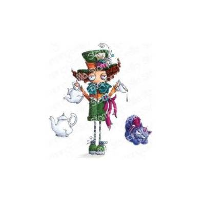 Tampons Cling - Stampingbella - Oddball Aiw the Mad Hatter