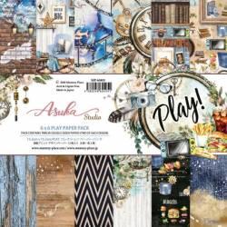 Pack Papier 15.2 x 15.2 cm - Asuka Studio - Play