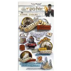 3D Stickers - Paper House - Harry Potter